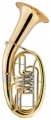B-Tenorhorn Lechgold 4-Ventile mit Koffer